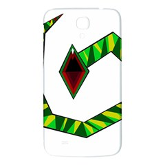 Decorative Snake Samsung Galaxy Mega I9200 Hardshell Back Case by Valentinaart