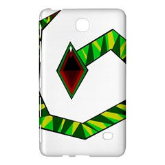 Decorative Snake Samsung Galaxy Tab 4 (7 ) Hardshell Case  by Valentinaart