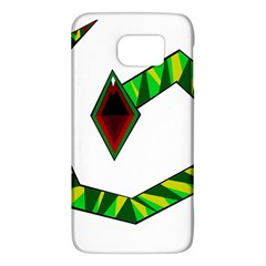 Decorative Snake Galaxy S6 by Valentinaart