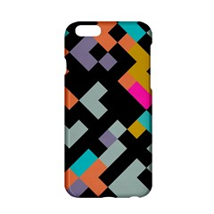 Connected Shapes                                                                             apple Iphone 6/6s Hardshell Case by LalyLauraFLM
