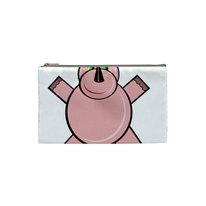 Pink Rhino Cosmetic Bag (Small)