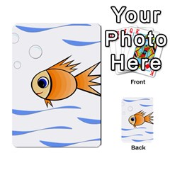Cute Fish Multi Purpose Cards (rectangle)  by Valentinaart