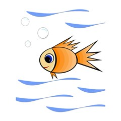 Cute Fish Shower Curtain 60  X 72  (medium)  by Valentinaart