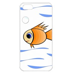Cute Fish Apple Iphone 5 Seamless Case (white) by Valentinaart