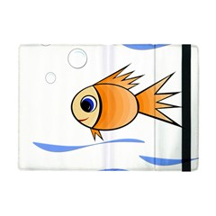 Cute Fish Apple Ipad Mini Flip Case by Valentinaart
