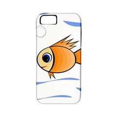Cute Fish Apple Iphone 5 Classic Hardshell Case (pc+silicone) by Valentinaart