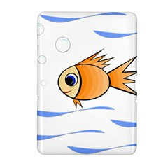 Cute Fish Samsung Galaxy Tab 2 (10 1 ) P5100 Hardshell Case  by Valentinaart