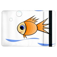 Cute Fish Ipad Air Flip by Valentinaart