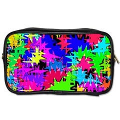 Colorful Shapes                                                                             Toiletries Bag (two Sides) by LalyLauraFLM