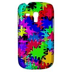 Colorful Shapes                                                                             			samsung Galaxy S3 Mini I8190 Hardshell Case by LalyLauraFLM