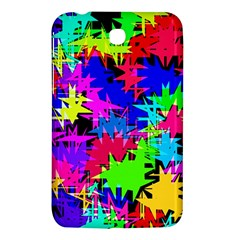 Colorful Shapes                                                                             			samsung Galaxy Tab 3 (7 ) P3200 Hardshell Case by LalyLauraFLM