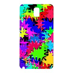 Colorful Shapes                                                                             			samsung Galaxy Note 3 N9005 Hardshell Back Case by LalyLauraFLM