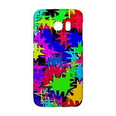 Colorful Shapes                                                                             			samsung Galaxy S6 Edge Hardshell Case by LalyLauraFLM