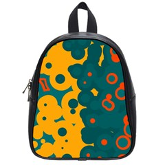 Bubbles                                                                              			school Bag (small) by LalyLauraFLM