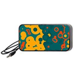 Bubbles                                                                              Portable Speaker by LalyLauraFLM