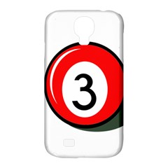Billiard Ball Number 3 Samsung Galaxy S4 Classic Hardshell Case (pc+silicone) by Valentinaart