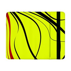 Yellow Decorative Design Samsung Galaxy Tab Pro 8 4  Flip Case by Valentinaart