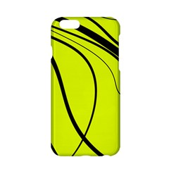 Yellow Decorative Design Apple Iphone 6/6s Hardshell Case by Valentinaart