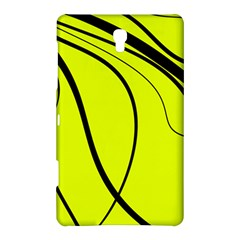Yellow Decorative Design Samsung Galaxy Tab S (8 4 ) Hardshell Case  by Valentinaart
