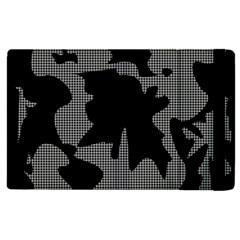 Decorative Elegant Design Apple Ipad 3/4 Flip Case by Valentinaart