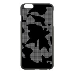 Decorative Elegant Design Apple Iphone 6 Plus/6s Plus Black Enamel Case by Valentinaart
