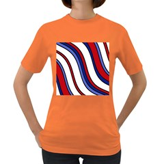 Decorative Lines Women s Dark T Shirt by Valentinaart