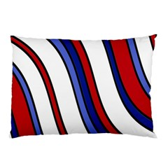 Decorative Lines Pillow Case (two Sides) by Valentinaart
