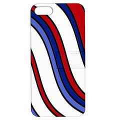 Decorative Lines Apple Iphone 5 Hardshell Case With Stand by Valentinaart