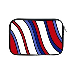 Decorative Lines Apple Ipad Mini Zipper Cases by Valentinaart