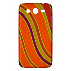 Orange Lines Samsung Galaxy Mega 5 8 I9152 Hardshell Case  by Valentinaart