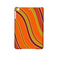 Orange Lines Ipad Mini 2 Hardshell Cases by Valentinaart