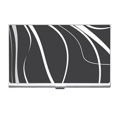 Black And White Elegant Design Business Card Holders by Valentinaart