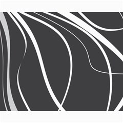 Black And White Elegant Design Canvas 16  X 20   by Valentinaart