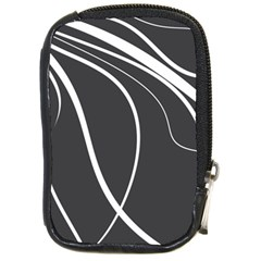Black And White Elegant Design Compact Camera Cases by Valentinaart