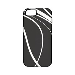 Black And White Elegant Design Apple Iphone 5 Classic Hardshell Case (pc+silicone) by Valentinaart