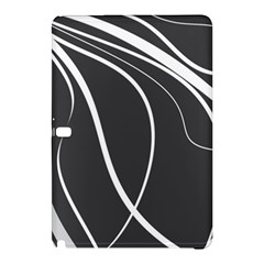 Black And White Elegant Design Samsung Galaxy Tab Pro 12 2 Hardshell Case by Valentinaart
