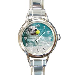 jewelry and watches Round Italian Charm Watch by 123creations