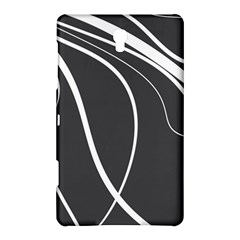 Black And White Elegant Design Samsung Galaxy Tab S (8 4 ) Hardshell Case  by Valentinaart