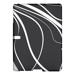 Black And White Elegant Design Samsung Galaxy Tab S (10 5 ) Hardshell Case  by Valentinaart