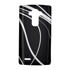 Black And White Elegant Design Lg G4 Hardshell Case by Valentinaart