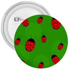Ladybugs 3  Buttons by Valentinaart