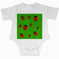 Ladybugs Infant Creepers by Valentinaart