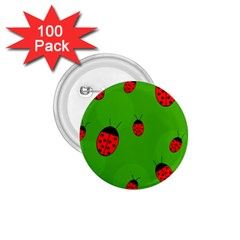 Ladybugs 1 75  Buttons (100 Pack)  by Valentinaart