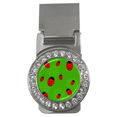 Ladybugs Money Clips (cz)  by Valentinaart