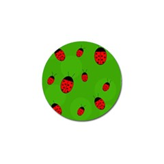 Ladybugs Golf Ball Marker (10 Pack) by Valentinaart