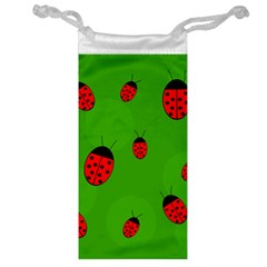 Ladybugs Jewelry Bags by Valentinaart