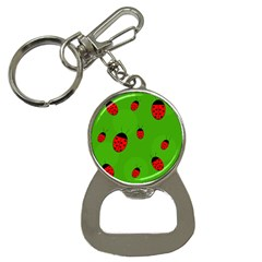 Ladybugs Bottle Opener Key Chains by Valentinaart