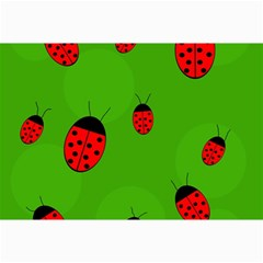 Ladybugs Collage Prints by Valentinaart