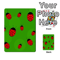 Ladybugs Multi Purpose Cards (rectangle)  by Valentinaart