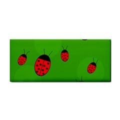Ladybugs Hand Towel by Valentinaart